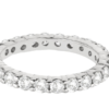 2.00 ct Eternity ring Wedding band in 14K white gold