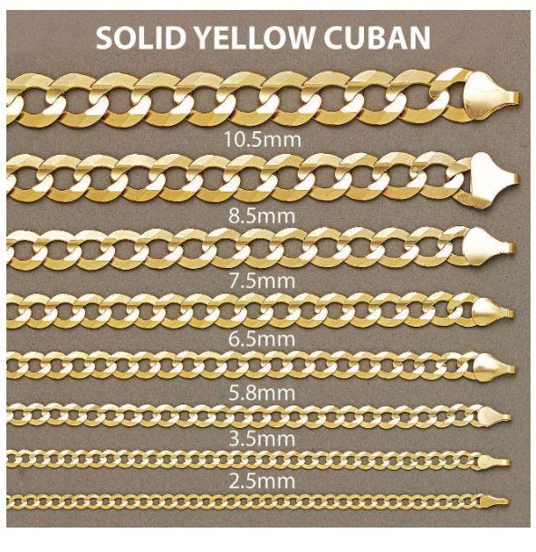 Solid Cuban Link