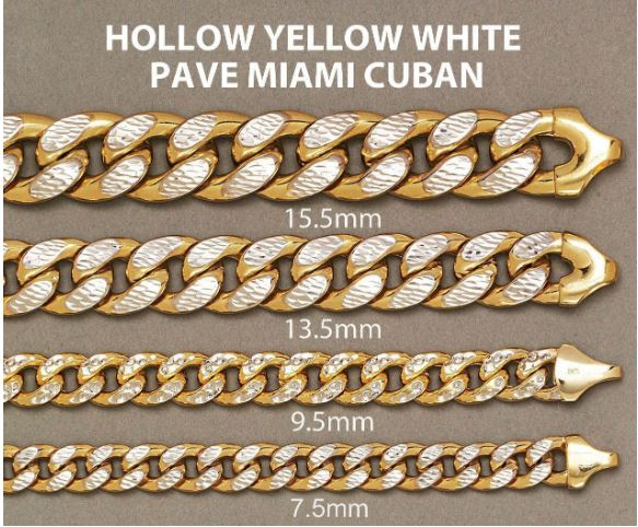 hollow Miami diamond Cut